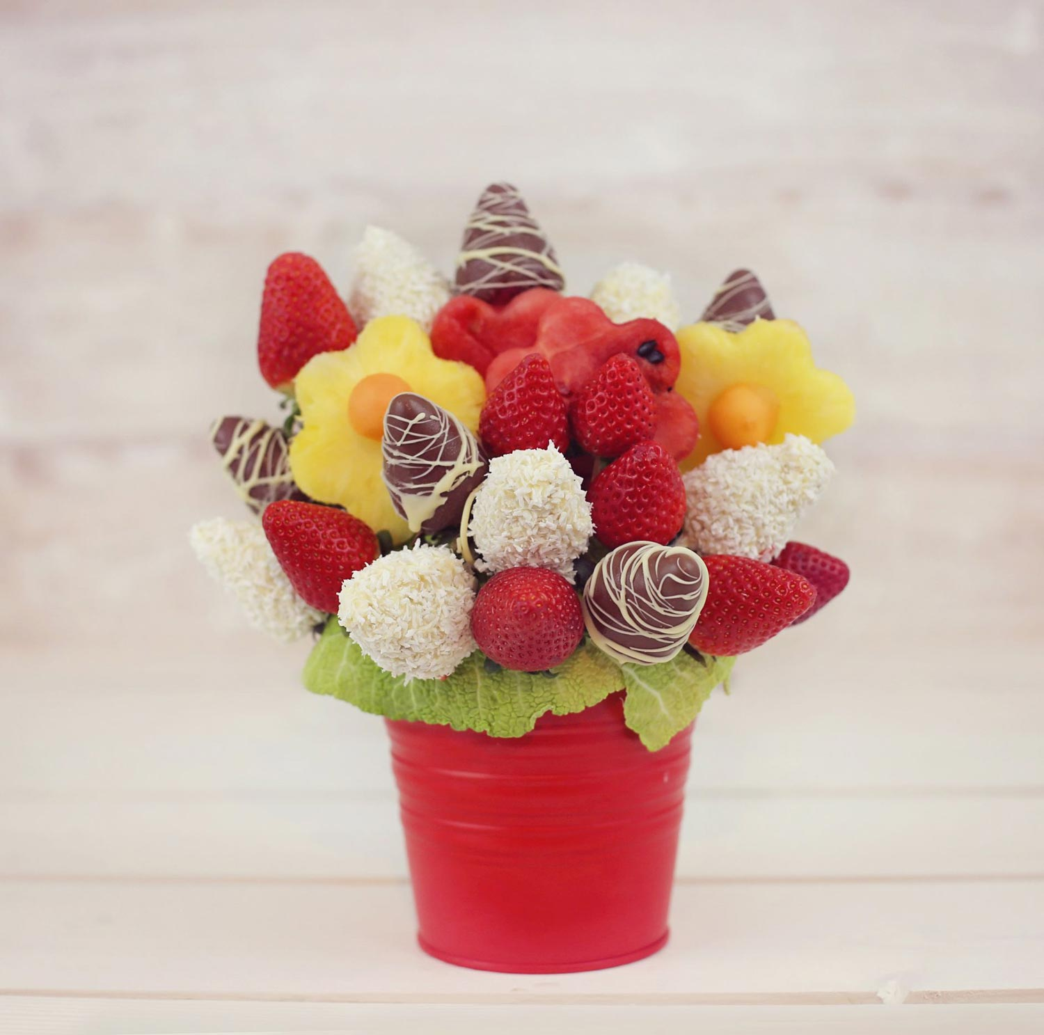 Taste of luxury edible fruit bouquet Fruit bouquet