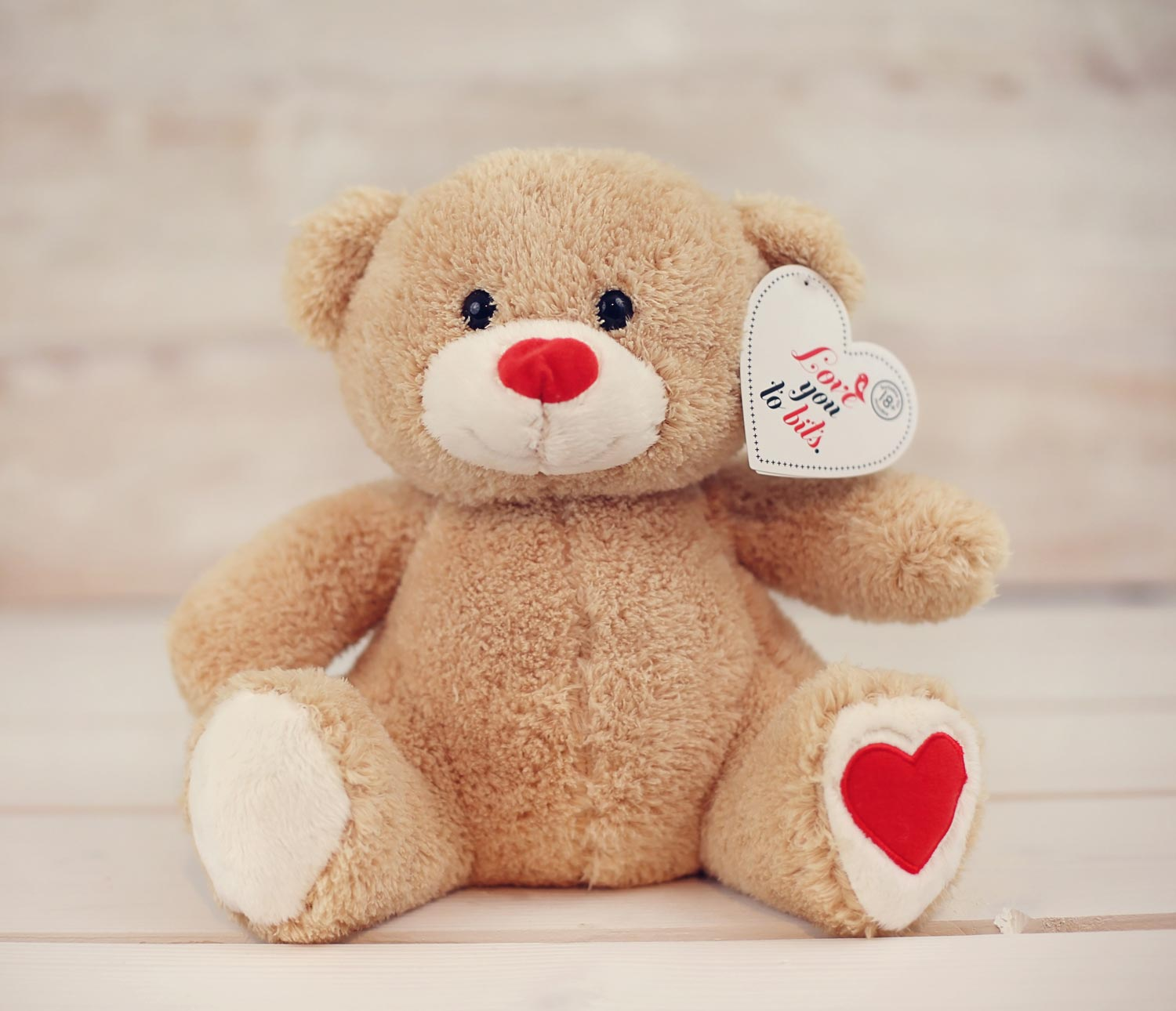 Teddy heart edible fruit bouquet - Tedy shop ...